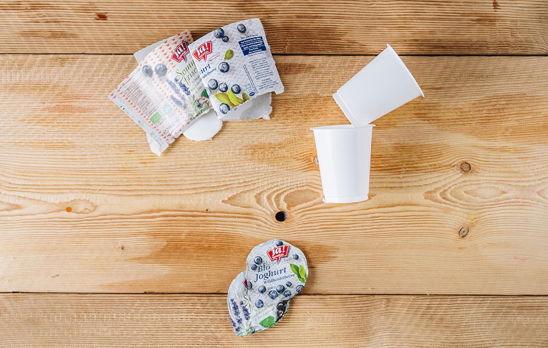 Joghurtbecher Richtig Entsorgen
